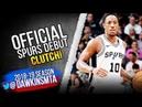 DeMar DeRozan Official Spurs DEBUT 2018.10.17 vs TWolves - 28 Pts, CLUTCH! | FreeDawkins