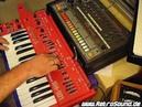 Roland SH-101 TR-808 Synthesizer live jam - no SH-01A TR-08