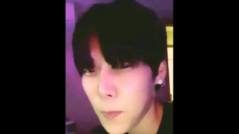 Yijeong IG live 180401 cut2