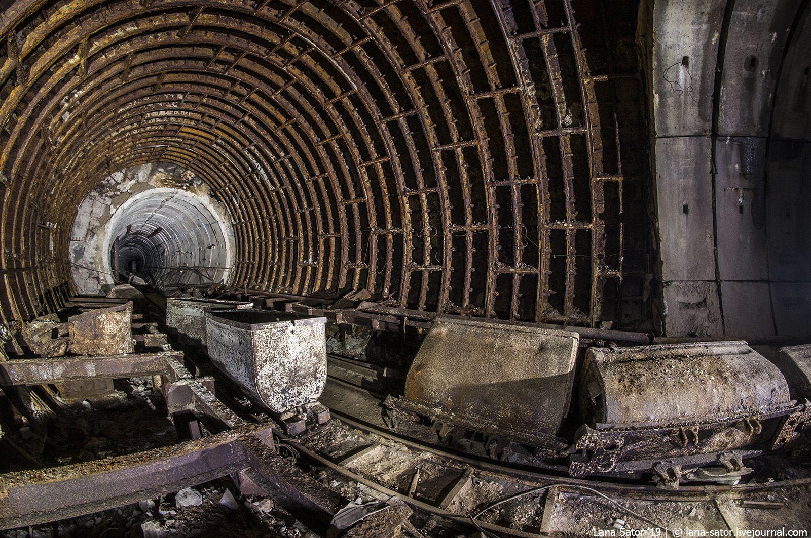 конце концов, заброшенное метро в москве фото ведь зря начала