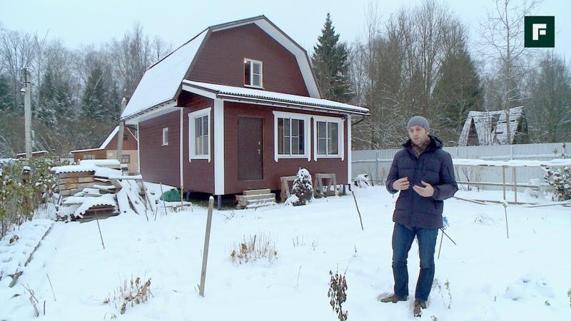 Дачный домик для мамы. Строительство из бруса и каркасные пристройки FORUMHOUSE