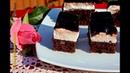 Румынский шоколадный торт / Prajitura Dinte de negru Farfuria vesela