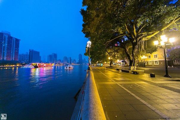 Город Гуанчжоу, юг Китая