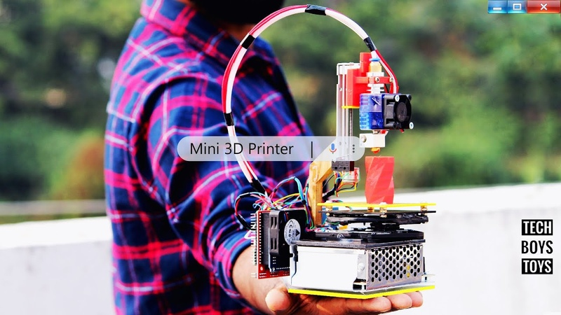 How to Make a Mini 3D Printer at home