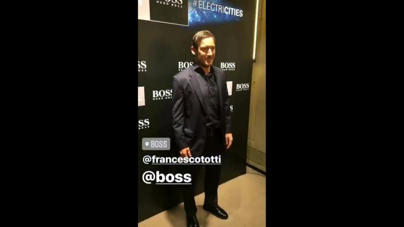 Totti - ️ De Rossi - HUGOBOSS - FIAFormulaE - ️