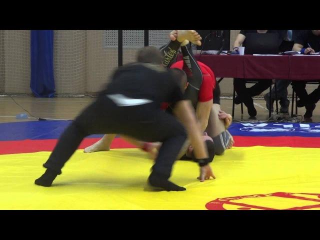 ЧР по Грепплингу Но Ги 2016 92 кг 3 4 место Гусейнов Абдулбари Багин Роман