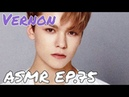 ASMR EP 75 Vernon's Voice For Relax Sleep Tingles Study 3D Sound Rain
