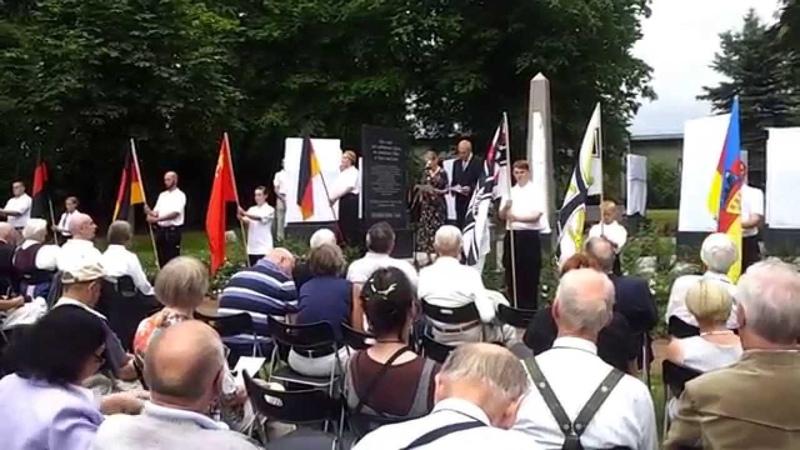 Impressionen von der Gedenkstätte in Guthmannshausen