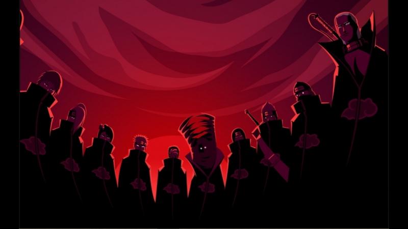 Все смерти членов Акацуки