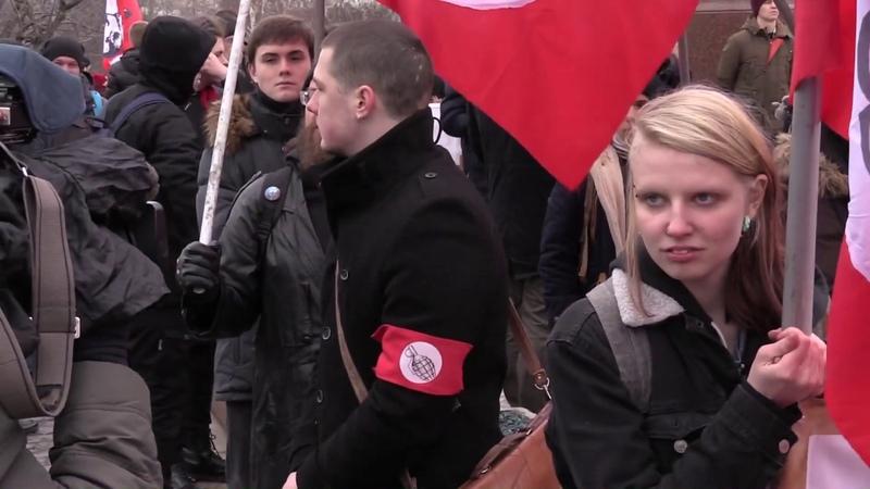 Митинг За Россию справедливость новый курс!
