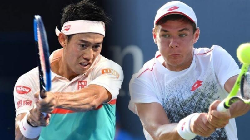 Kei Nishikori (錦織圭) vs Kamil Majchrzak