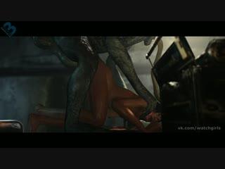 Vk.com/watchgirls rule34 resident evil ada wong (las plagas) 3d porn monster sound 5min