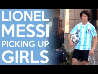 Lionel Messi Picking Up Girls (Football / Soccer)