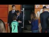 Криштиану Роналду утешил молодого фаната