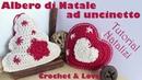 Albero di Natale e Stella ad uncinetto (sub. eng. y esp.) (Tutorial Natalizi)