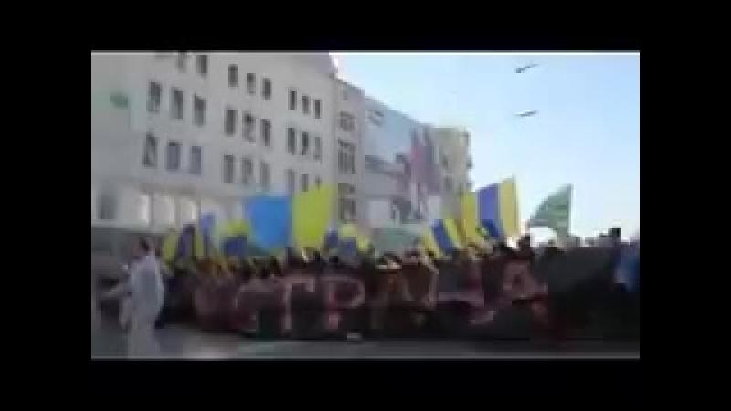 Украина поддержала выборы президента россии!