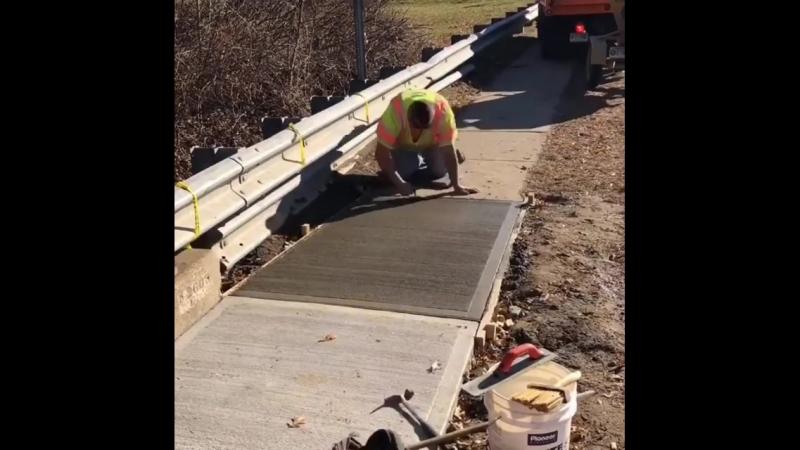 Детализация работы с бетоном