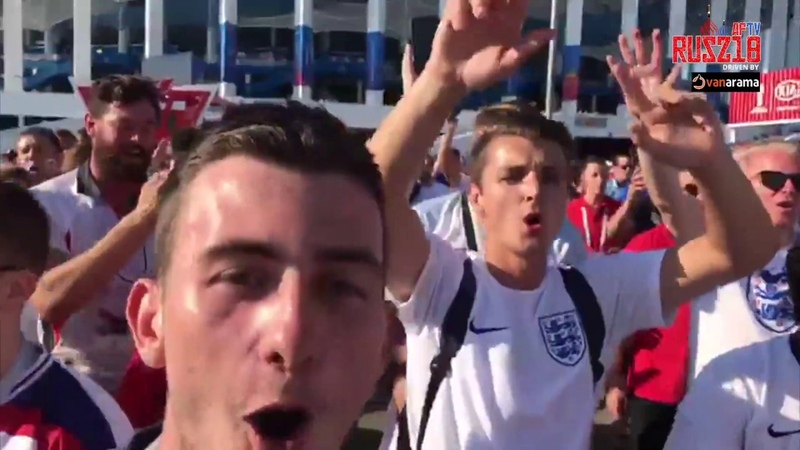 England Fans World Cup Anthem | Drinking All The Vodka