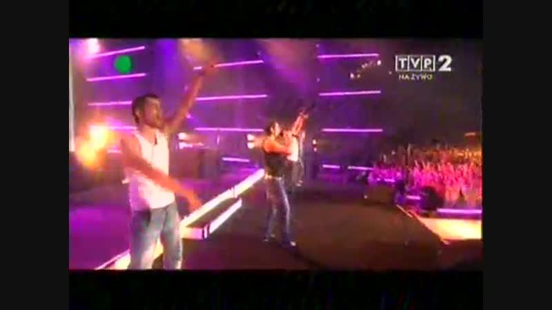 Akcent- Kylie live Polsce