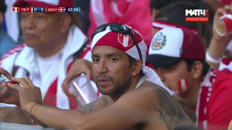 ЧМ 2018. Группа C. 1 тур. Перу – Дания (16.06.2018) HDTVRip-HEVC 720p