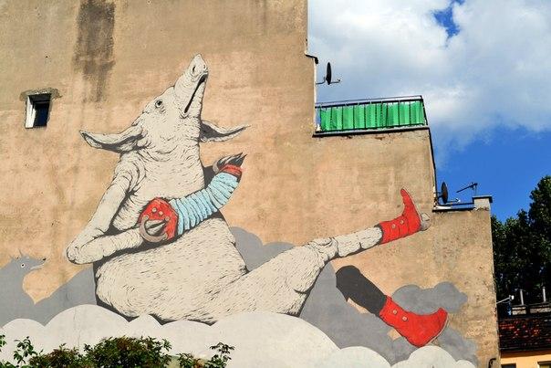 Графіті в місті Вроцлав