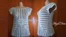 Blusa Free 💝 Croches Magda Faria 💝semprecirculo