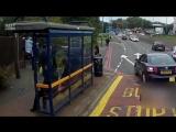 Водитель автобуса спас парня на которога напали гопники и попытались отобрать велик