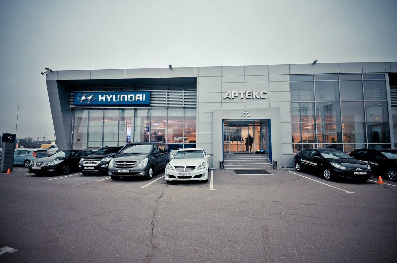 Hyundai на Рублевке