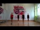Танц дети Клин репетиция флеш моба AllRealArt (весёлые девчонки!)