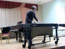 Владислав Дыбаль (вибрафон) - Сюита для лютни и клавесина: Буррэ и Алеманда (муз. Иоганна Себастьяна Баха)