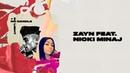 ZAYN No Candle No Light Lyric Video ft Nicki Minaj