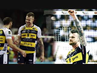 Ivan Zaytsev best volleyball players 2018 Men Volleyball Super Cup
