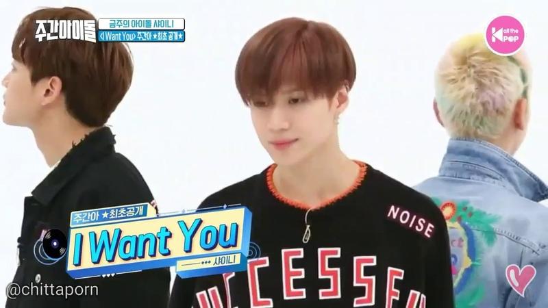 SHINee I Want You WEEKLY IDOL Dance 샤이니 주간아이돌 2018