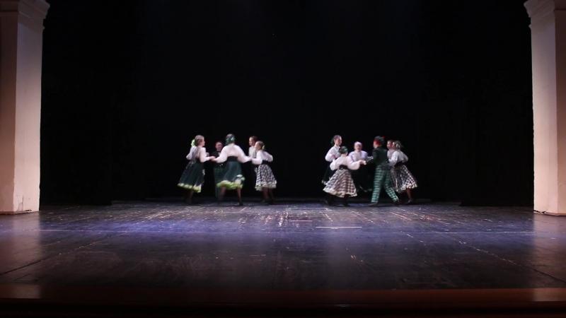 Детский ансамбль танца Облака Скоттиш кантри