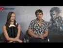 Kinowetter Интервью с Каей Скоделарио и Брентоном Туэйтсом в рамках промоушена «Пиратов Карибского моря 5»