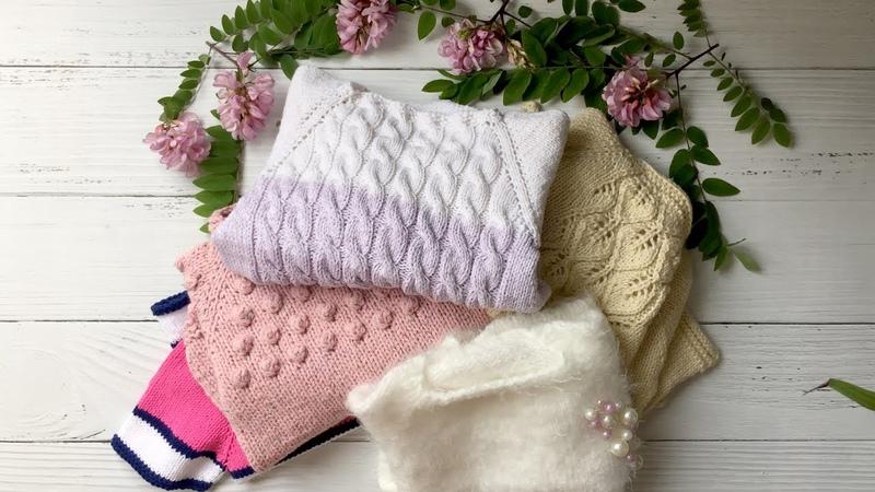 Навязала Обзор детских свитеров, ч.2 ( модели от 2-х лет)