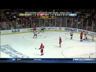 Bruins-Red Wings Game 3 ADSF Highlights 4/22/14