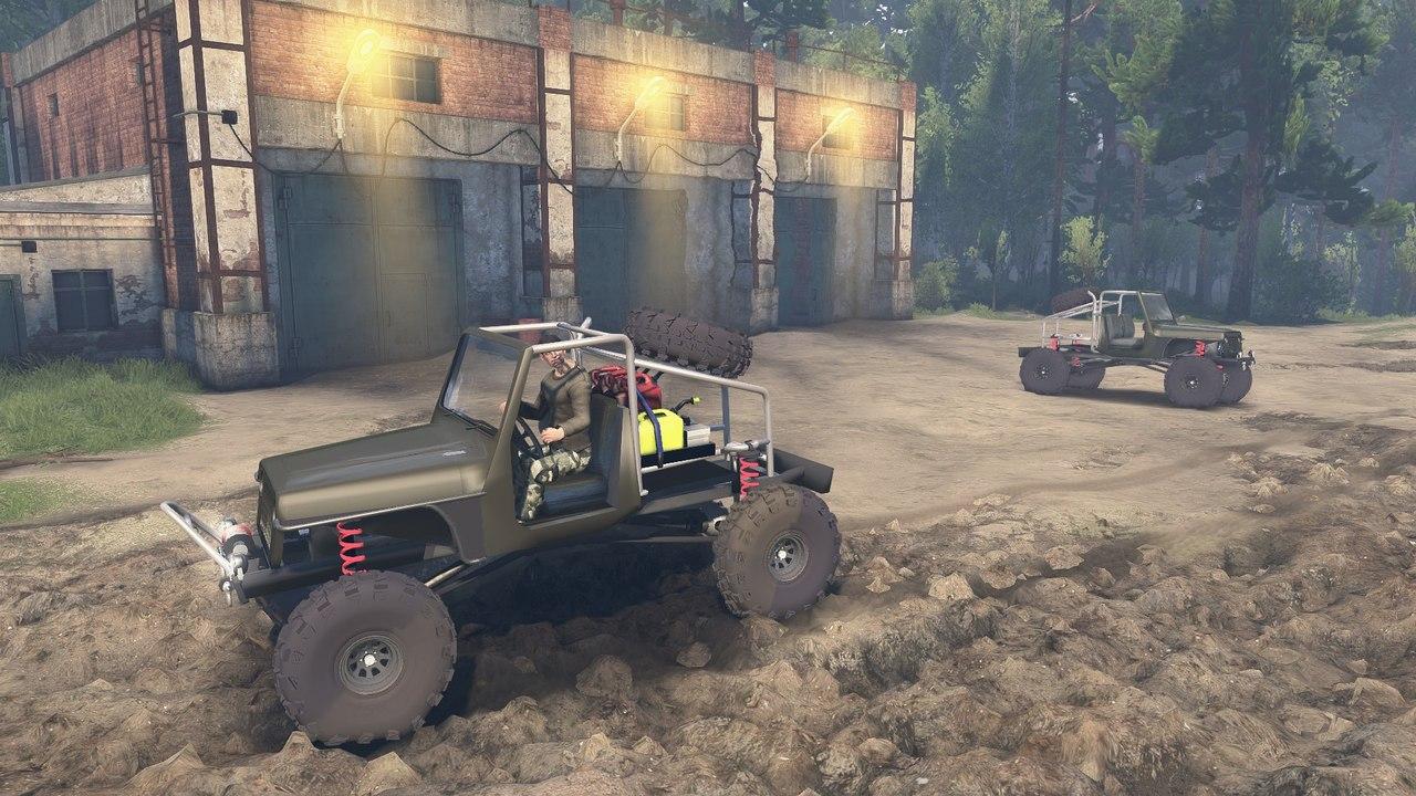 JK8 Crawler для 23.10.15 для Spintires - Скриншот 3