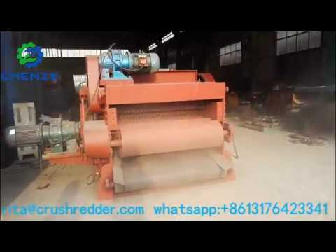 20 30t per hour drum wood pallet chipping crusher древесная дробилка