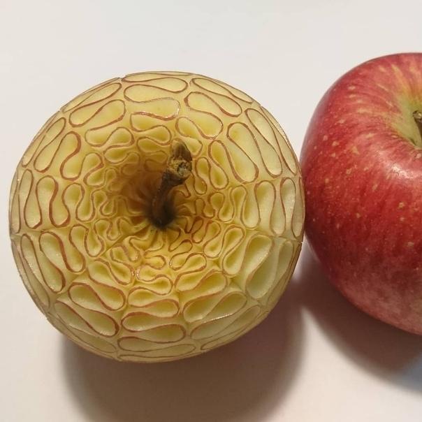 Мукимоно Такехиро Кишимото. Японский шеф-повар и художник по кулинарии Такехиро Кишимото превращает фрукты и овощи в замысловатые скульптуры, слишком красивые, чтобы их есть. Используя острые