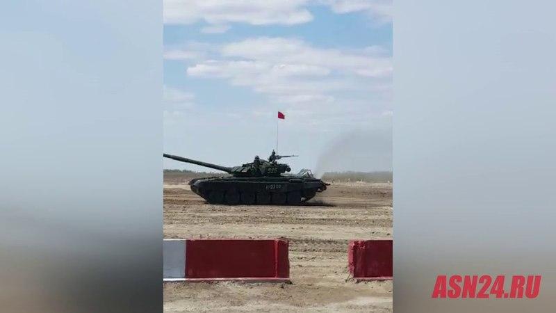 Танковый биатлон в Амурской области