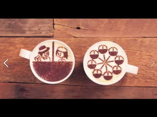 A Latte Love Coffee Motion Animation From Morning Latte's love story