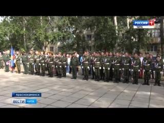 Тридцать учащихся стали кадетами средней общеобразовательной школы №1 Краснокаме