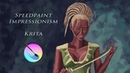 Impressionism Speedpaint Character Girl Fantasy (Krita)