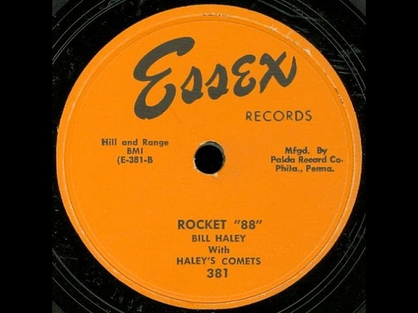 Bill Haley with Haley's Comets