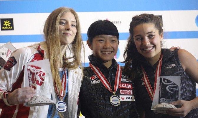 Губкинская скалолазка Луиза Емельева завоевала серебряную медаль первенства мира, который проходил в австрийском Инсбруке.