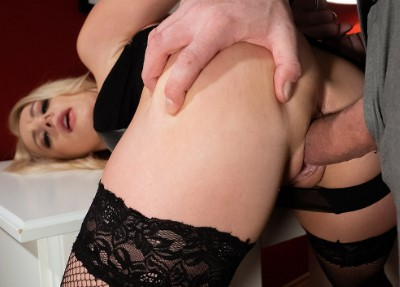 Blonde wife handcuffed and fucked