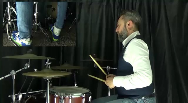 """@diamondmusicschool_ge on Instagram: """"Groove in 11/16. Orchestrated with KICK snare and hi-hat the sticking of the previous post. Have fun!💎 • • • ..."""
