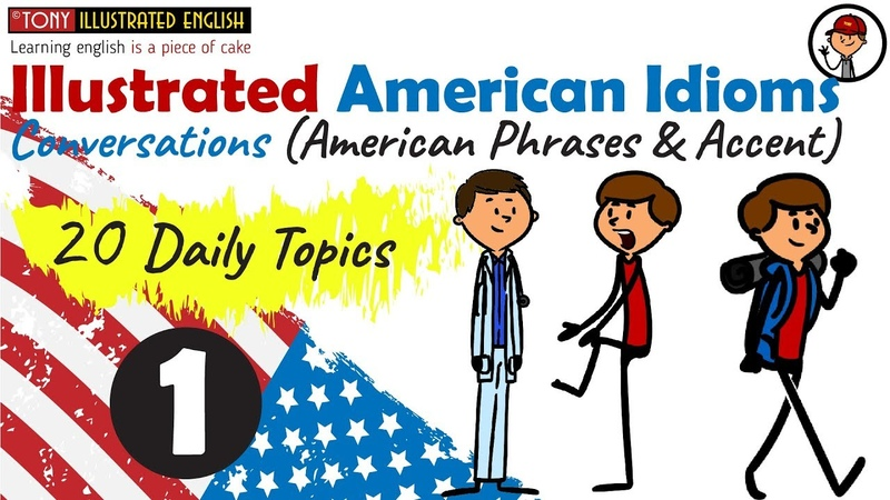 Illustrated American Idioms Lesson 1 (Health problems)