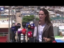 Анджелина в лагере для беженцев
